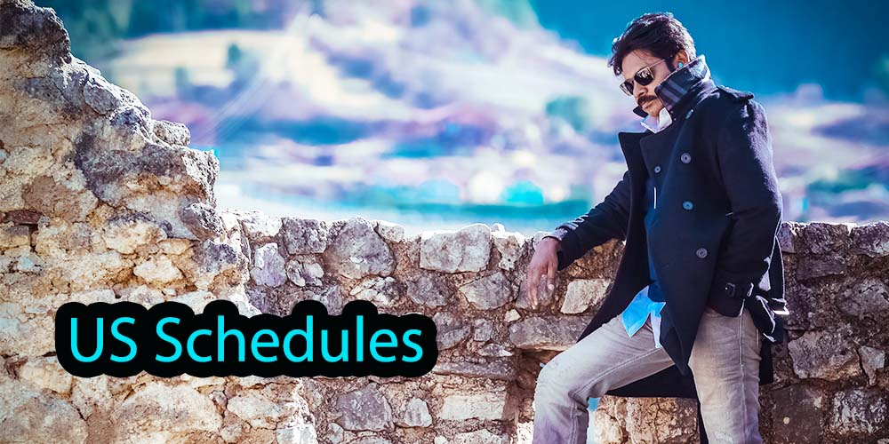 Katamarayudu US Schedules